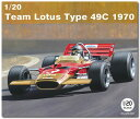 1/20 Team Lotus Type 49C 1970 プラモデル[EBBRO]《07月予約》
