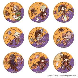 "Tin Badge ""Danganronpa V3: Killing Harmony"" 05/ GraffArt Halloween ver. 9Pack BOX(Pre-order)(缶バッジ「ニューダンガンロンパV3 みんなのコロシアイ新学期」05/グラフアート ハロウィンver. 9個入りBOX)"