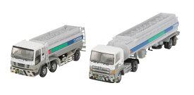 ザ・トラック/トレーラーコレクション コスモ石油タンクローリーセット[トミーテック]《発売済・在庫品》