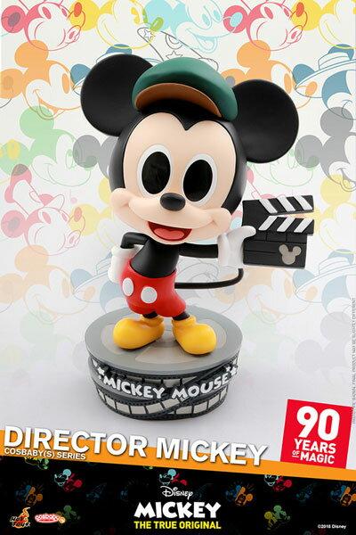 コスベイビー 『ミッキーマウス スクリーンデビュー90周年』[サイズS]ミッキーマウス(監督版)[ホットトイズ]《発売済・在庫品》
