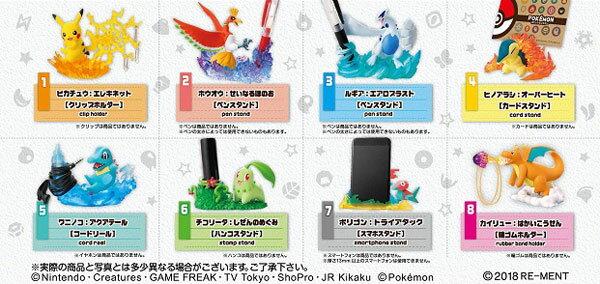 ポケットモンスター デスクでお役立ちフィギュア3 8個入りBOX (食玩)[リーメント]《発売済・在庫品》