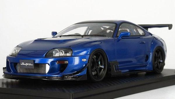 1/18 トヨタ スープラ (JZA80) RZ Blue[イグニッションモデル]【送料無料】《07月予約》