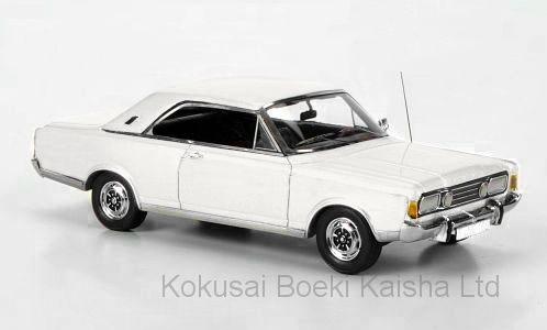 1/43 フォード タウヌス P7b 20M 1971 ホワイト[ネオ]《03月仮予約》