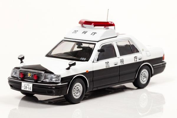 1/43 トヨタ クラウン GZ151Z 2000 警視庁地域部自動車警ら隊車両 100[RAI'S]《02月予約》