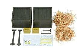 リトルアーモリー[LD021]ミリタリーハードケースB2 1/12 プラモデル[トミーテック]《発売済・在庫品》