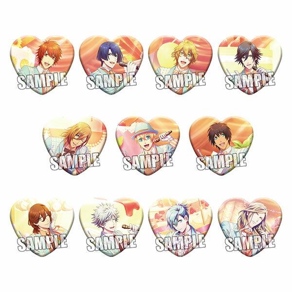 うたの☆プリンスさまっ♪ Shining Live トレーディングハート型缶バッジ Sweet Cafe LIVE Ver. 12個入りBOX[ブロッコリー]《02月予約》