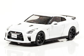 1/43 日産 GT-R Track edition engineered by nismo (R35) 2017 (Brilliant White Pearl)[CAR・NEL]《発売済・在庫品》