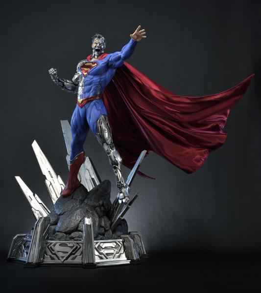 ミュージアムマスターライン/ SUPERMAN: サイボーグ・スーパーマン 1/3 スタチュー[プライム1スタジオ]【同梱不可】【送料無料】《04月予約》