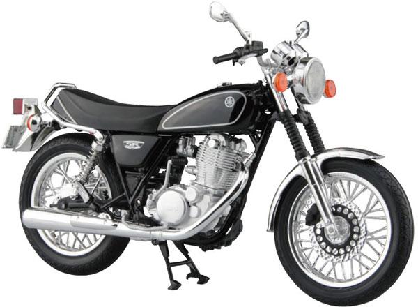 1/12 完成品バイク YAMAHA SR400 ヤマハブラック[スカイネット]《発売済・在庫品》