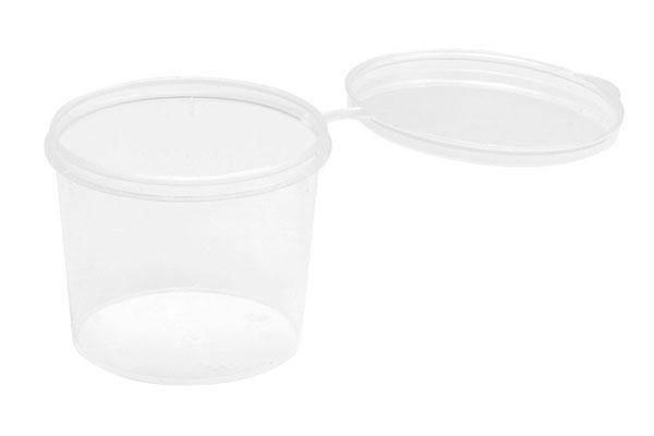 フタ付きPP塗料カップ[M] 10個入[WAVE]《発売済・在庫品》