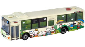 ザ・バスコレクション 北九州市交通局 ハローキティ バス1号車(ファミリーver.)[トミーテック]《発売済・在庫品》