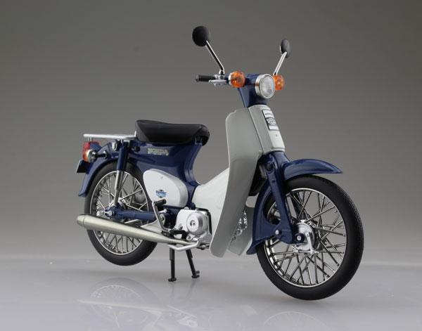 1/12 完成品バイク Honda スーパーカブ50 ブルー[スカイネット]《06月予約》