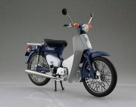 1/12 完成品バイク Honda スーパーカブ50 ブルー[スカイネット]《発売済・在庫品》