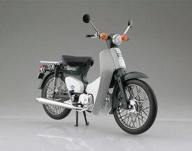 1/12 完成品バイク Honda スーパーカブ50 グリーン[スカイネット]《発売済・在庫品》