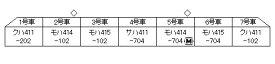 10-1535 415系(常磐線・新色) 7両基本セット[KATO]【送料無料】《09月予約》