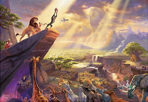 ジグソーパズル ディズニー The Lion King...