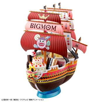 ワンピース偉大なる船(グランドシップ)コレクションクイーン・ママ・シャンテ号プラモデル(再販)[BANDAISPIRITS]《08月予約》
