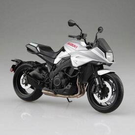 1/12 完成品バイク SUZUKI GSX-S1000S KATANA メタリックミスティックシルバー[スカイネット]《発売済・在庫品》