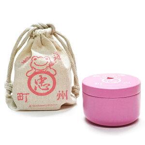 石川園×かえるのピクルス ティーバッグ缶(巾着袋入り) いちごフレーバー[エーワークス]《取り寄せ※暫定》