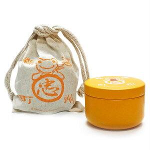石川園×かえるのピクルス ティーバッグ缶(巾着袋入り) りんごフレーバー[エーワークス]《取り寄せ※暫定》