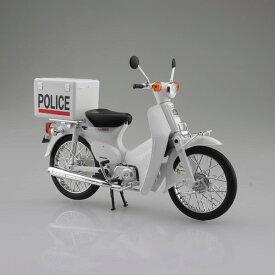 1/12 完成品バイク Honda スーパーカブ ポリス仕様[スカイネット]《発売済・在庫品》