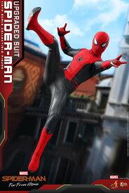 ムービーマスターピース FarFromHome スパイダーマンアップグレードスーツ 延期前倒可能性大[ホットトイズ]【同梱不可】【送料無料】《02月仮予約》