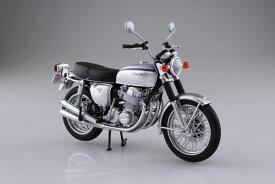 1/12 完成品バイク Honda CB750FOUR(K2) シルバー[スカイネット]《09月予約》