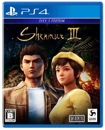 【特典】PS4シェンムーIII-リテールDay1エディション[DeepSilver]《11月予約》