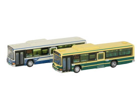 ザ・バスコレクション 名古屋市交通局 市バス90周年2台セット[トミーテック]《発売済・在庫品》
