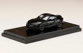 1/64 トヨタ GR スープラ(A90) RZ ブラックメタリック(日本流通限定カラー)[ホビージャパン]《01月予約》