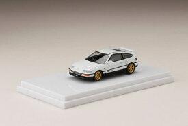 1/64 HondaCR-X SiR (EF8) / カスタムバージョン White[ホビージャパン]《10月予約》