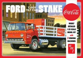 1/25 フォード C-600 ステイクベッドトラック w/コカ・コーラマシン プラモデル[AMT]《10月予約※暫定》