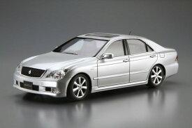 ザ・モデルカー No.118 1/24 トヨタ GRS182 クラウン ロイヤルサルーンG/ アスリートG '03 プラモデル[アオシマ]《11月予約》