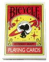 BICYCLE PLAYING CARDS ASTRONAUT SNOOPY (トランプ)[メディコム・トイ]《発売済・在庫品》