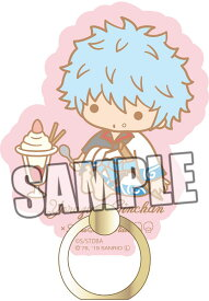 銀魂×Sanrio characters アクリルバンカーリング「坂田銀時」[ブロッコリー]《11月予約》