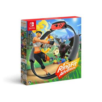 NintendoSwitchリングフィットアドベンチャー[任天堂]【送料無料】《10月予約》