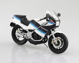 1/12 完成品バイク SUZUKI RG250Γ ブルー×ホワイト[スカイネット]《11月予約》