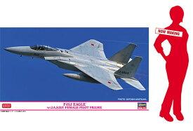 1/72 F-15J イーグル w/J.A.S.D.F. 女性パイロットフィギュア プラモデル[ハセガワ]《02月予約》