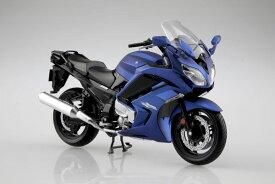 1/12 完成品バイク YAMAHA FJR1300A マッドダークパープリッシュブルーメタリック1[アオシマ]《04月予約※暫定》