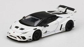 1/64 LB★WORKS ランボルギーニ ウラカン GT ホワイト(左ハンドル)[MINI GT]《06月予約》