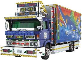 1/32 バリューデコトラ No.53 南勢冷蔵(4t冷凍車) プラモデル(再販)[アオシマ]《発売済・在庫品》
