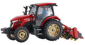 1/35 ヤンマー トラクター YT5113A ロータリー仕様 プラモデル[ハセガワ]《10月予約》