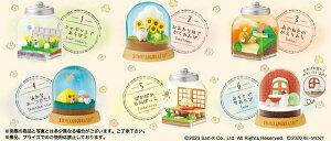 すみっコぐらし ほのぼのすみっコ日和 Everyday Terrarium 6個入りBOX[リーメント]《11月予約》