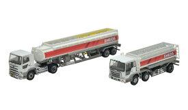 ザ・トラック/トレーラーコレクション ENEOSタンクローリーセット[トミーテック]《発売済・在庫品》