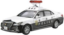 ザ・モデルカー No.129 1/24 トヨタ GRS210 クラウンパトロールカー 警ら用 '16 プラモデル[アオシマ]《発売済・在庫品》