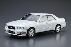 ザ・モデルカー No.95 1/24 ニッサン Y33 セドリック/グロリア グランツーリスモアルティマ '95 プラモデル(再販)[アオシマ]《12月予約》