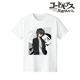 コードギアス 反逆のルルーシュ 描き下ろしイラスト ルルーシュ Casual Style Tシャツ レディース M[アルマビアンカ]《01月予約》