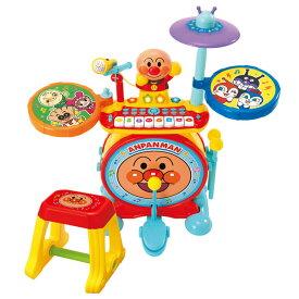 アンパンマン ノリノリライブ♪BIG電子ドラム&キーボード[ジョイパレット]【送料無料】《発売済・在庫品》