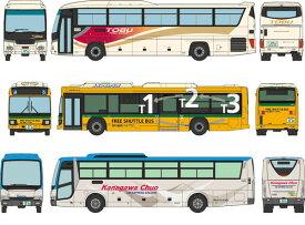 ザ・バスコレクション 東京国際空港(HND)バスセットB[トミーテック]《発売済・在庫品》