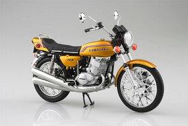 1/12 完成品バイク KAWASAKI 750SS MACH IV (ヨーロッパ仕様) キャンディーゴールド[スカイネット]《発売済・在庫品》